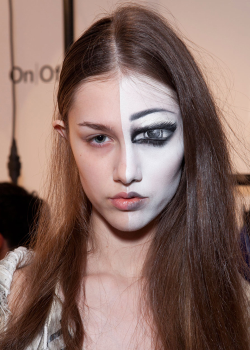 Runway Beauty Crazy Makeup Trends From Fall Winter 2012