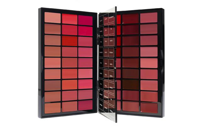 Makeup artist lip palette
