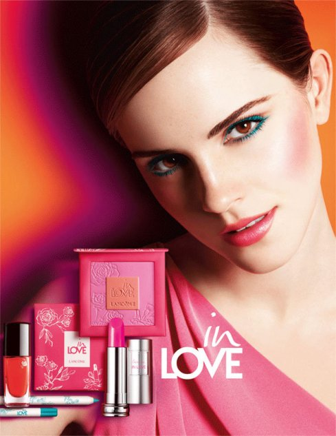 "Emma Watson for Lancôme ""In Love"" Spring Collection 2013 愛戀巴黎限量春季彩妝"
