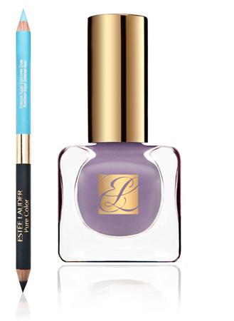 純色晶灩銀河光感雙頭眼線筆 & 純色晶灩指甲油