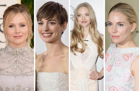 Kristen Bell, Anne Hathaway, Amanda Seyfried, Sienna Miller