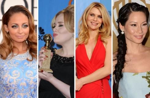 Nicole Richie, Adele, Claire Danes, Lucy Liu