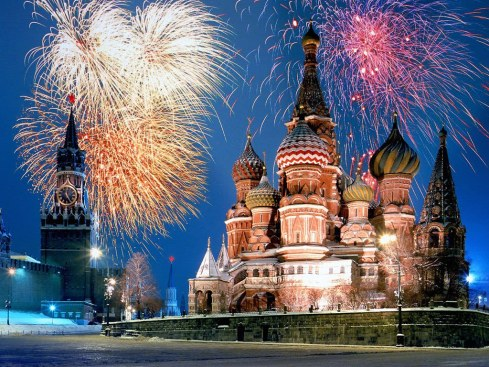 Kremlin and Red Square @ Moscow, Russia