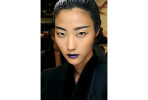 Lustrous Lips at Haider Ackermann
