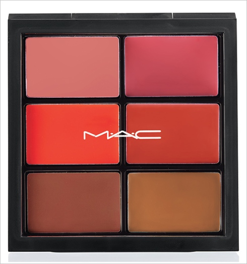 MAC Pro Lip Palette: 6 EDITORIAL ORANGES