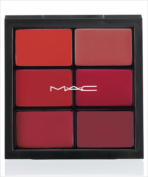 MAC Pro Lip Palette: 6 EDITORIAL REDS