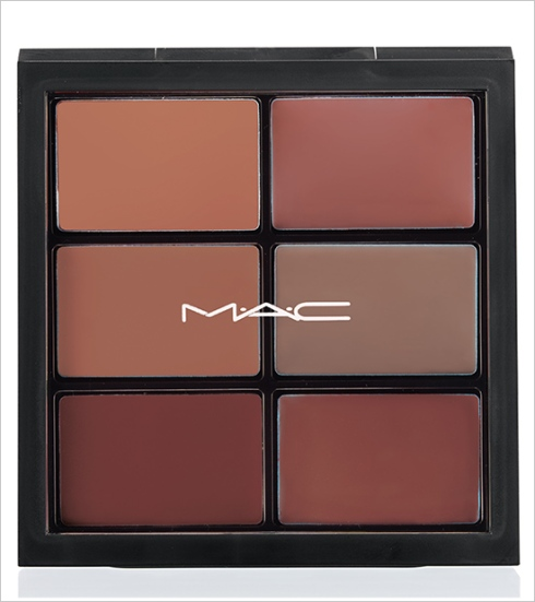 MAC Pro Lip Palette: 6 MODERN BROWNS
