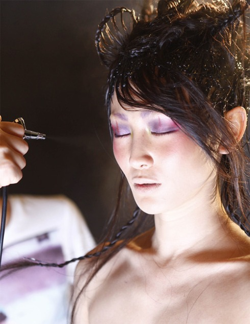 MAC Year of Snake 2013 BTS-05