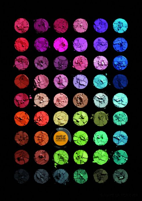 MUFE Artist Shadow - Color Schematics