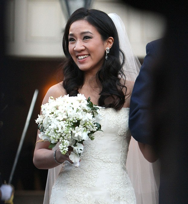 Figure Skating Champion Michelle Kwan Married