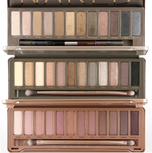 Neutral Color Eye Shadow Palettes by Urban Decay
