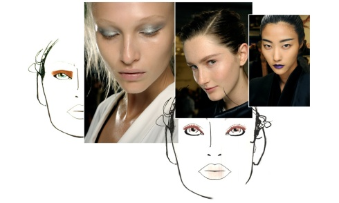 Paris Fashion Week Spring/Summer 2013 Beauty Trends