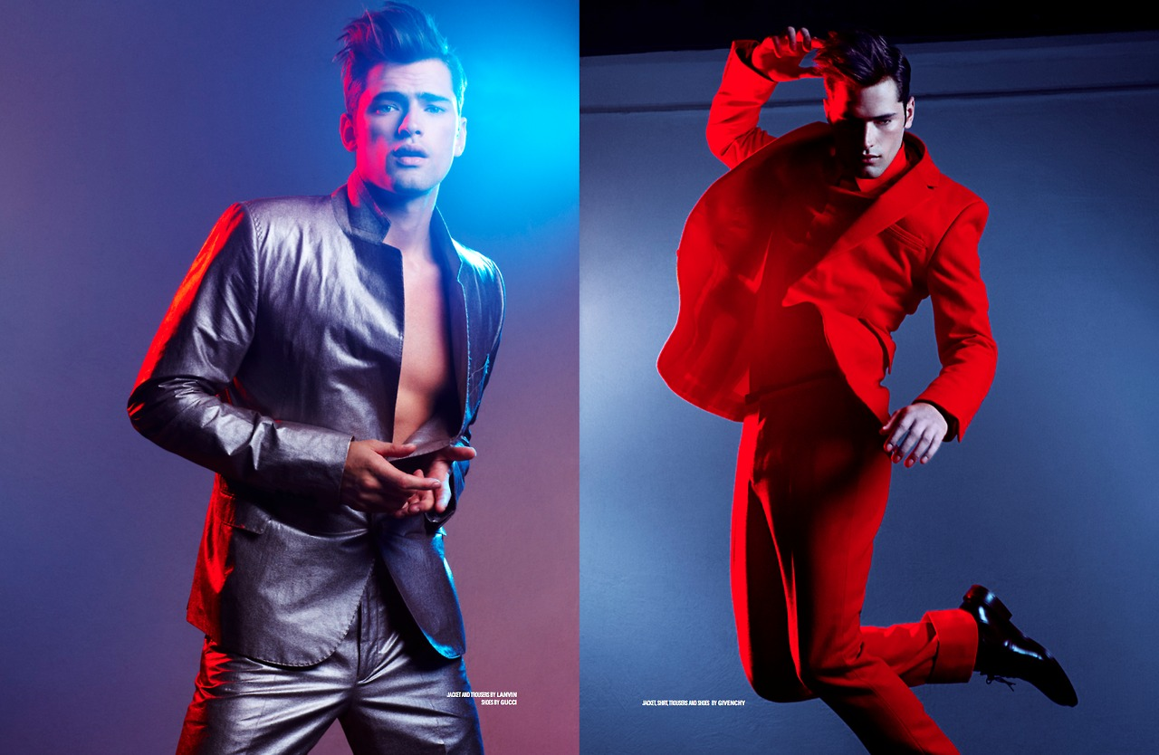 """Tommy Beauty Pro: Sean O'Pry """"Celebration"""" Editorial For DSection #5"""