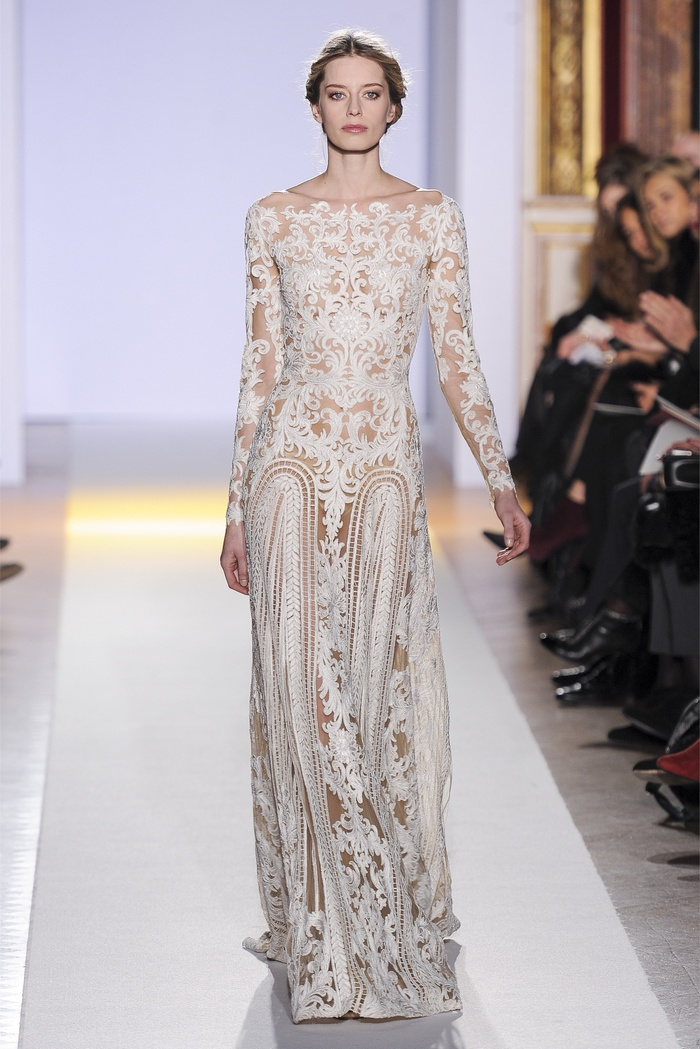 Zuhair murad couture spring 2013 tommy beauty pro for How to become a haute couture designer