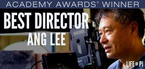 Ang Lee Best Director for Oscars