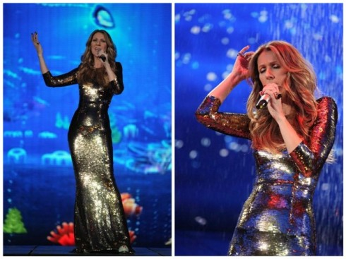 Céline Dion on CCTV Chinese 2013 New Year