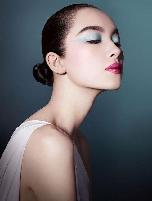 Fei Fei Sun (孫菲菲) for Giorgio Armani Spring 2013