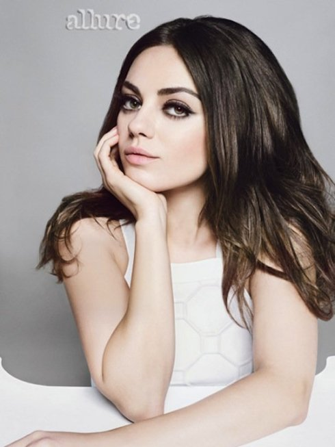 Mila Kunis Covers 'Allure' Magazine March 2013-04