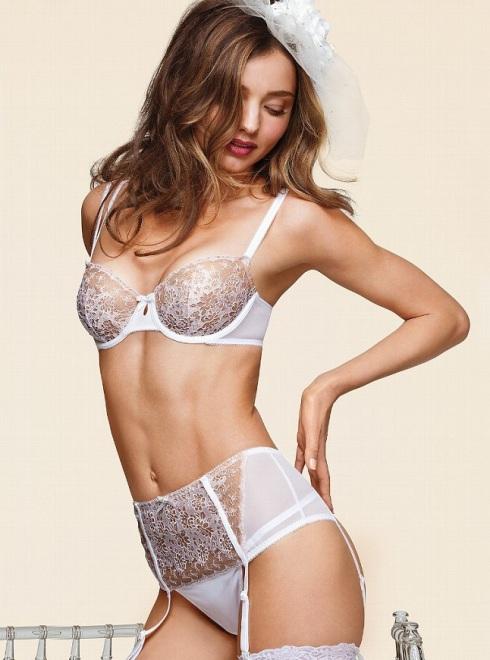 Miranda Kerr for Victoria's Secret Bridal Lingerie 2013 ... Miranda Kerr Collection