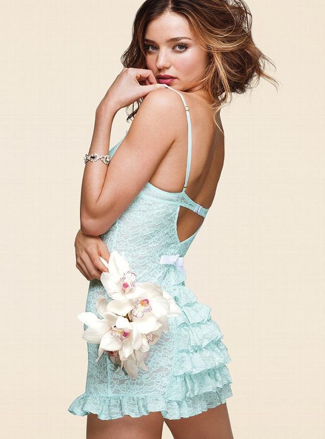 Miranda Kerr For Victorias Secret Bridal Lingerie 2013 Collection