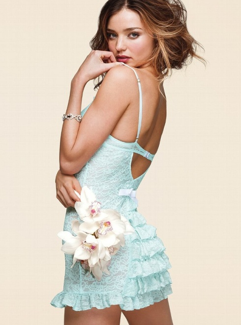 Miranda Kerr for Victoria's Secret Bridal Lingerie Collection-02