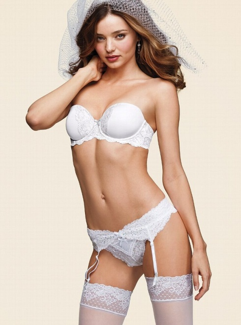 Miranda Kerr for Victoria's Secret Bridal Lingerie Collection-05