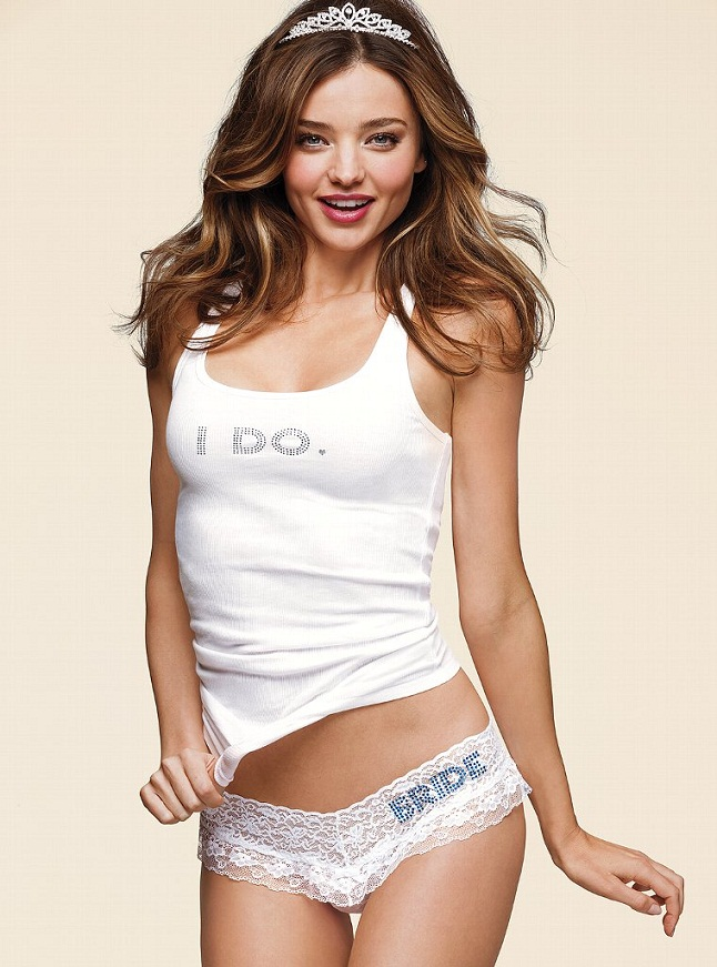 Miranda Kerr for Victoria's Secret Bridal Lingerie 2013 ... Miranda Kerr Collection