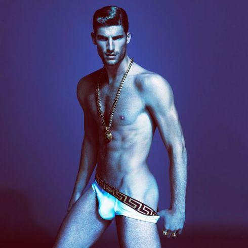 Versace Underwear Spring Summer 2013 Ryan Barrett