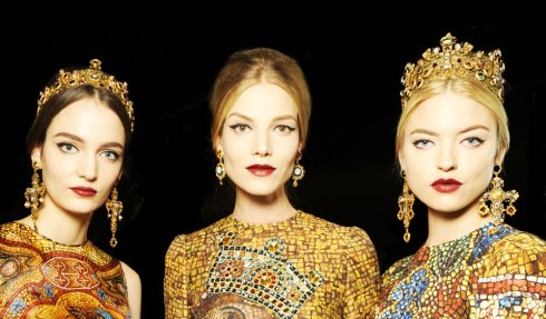 Dolce&Gabbana FW 2014 Mosaic Women Collection-01