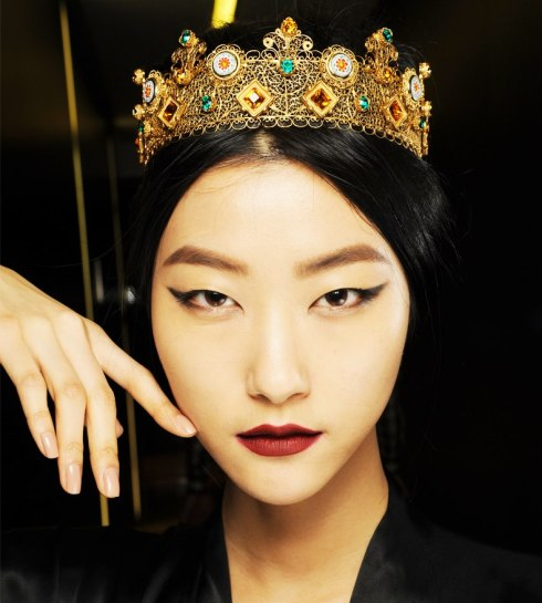 Dolce&Gabbana FW 2014 Mosaic Women Collection-07