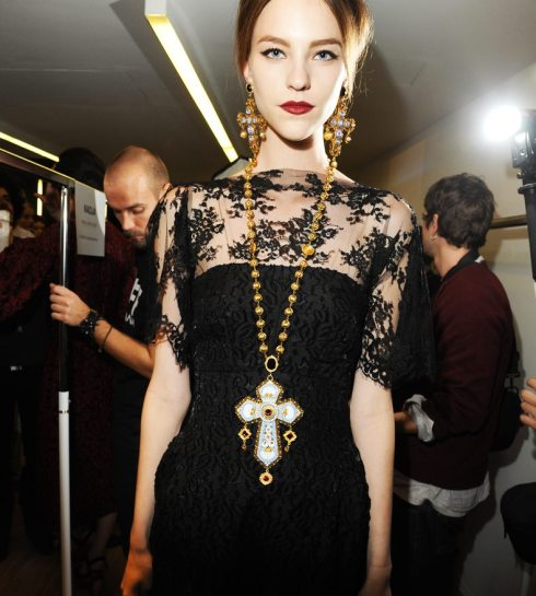 Dolce&Gabbana FW 2014 Mosaic Women Collection-08