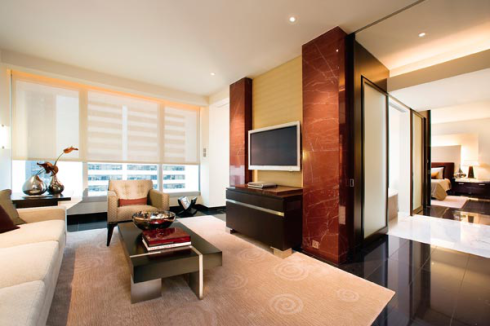 香港置地文華東方酒店L900套房 The Landmark Mandarin Oriental Suite