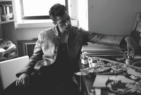 Sean O'Pry for Glow Magazine September 2012-03 (2)
