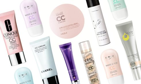 CC Cream Selection
