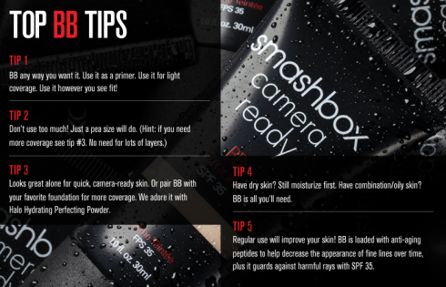 Smashbox - Top BB Cream Tips