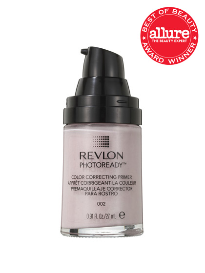 Revlon PhotoReady Color Correcting Primer is so good at disguising pores and fine lines, you may as well skip base entirely.