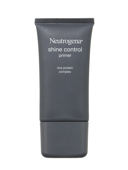 For oily skin, Neutrogena Shine Control Primer absorbs grease without congesting pores.