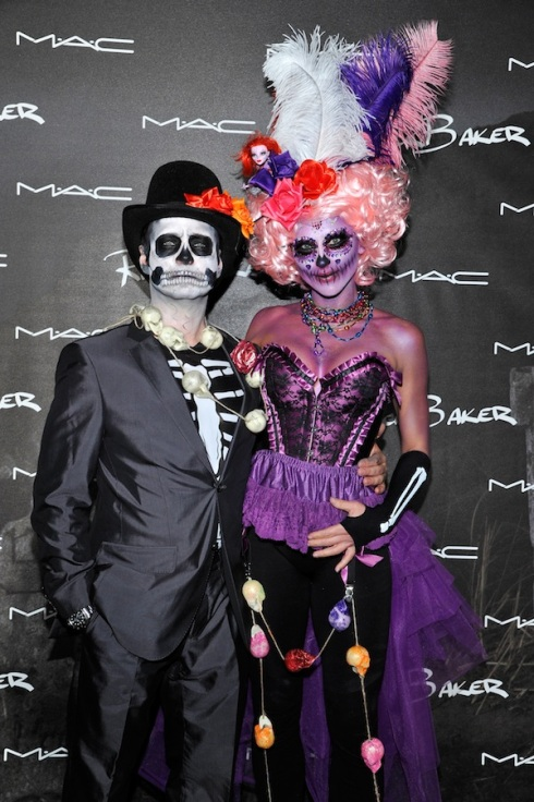 Jason and Naomi Priestley attend M·A·C Cosmetics and Rick Baker's Monster Mash