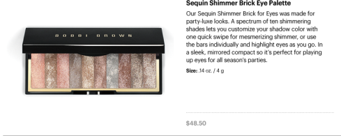 Sequin Shimmer Brick Eye Palette
