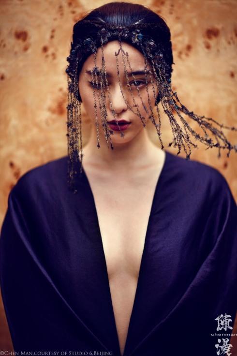 by Chen Man-041 Fan Bingbing By Chen Man For I-D Magazine Fall 2012-02