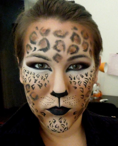 Cheeta Leopard Face by MUA Marla