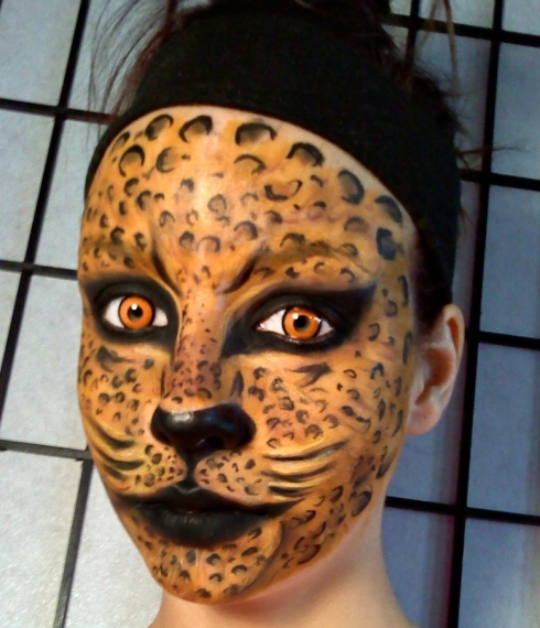 Cheeta / Leopard Face