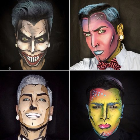 Comic Book Makeups