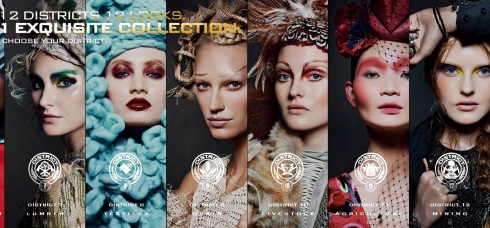 Cover Girl The Hunger Games Catching Fire Collection 2013-02