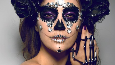 Diamond Sugar Skull Makeup by Jordan Liberty