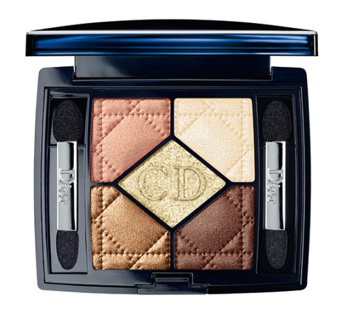 Dior Holiday Collection 2013 - Eye Shadows: Golden Flowers