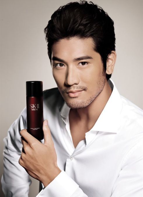 高以翔 Godfrey Gao for SKII Men Skincare