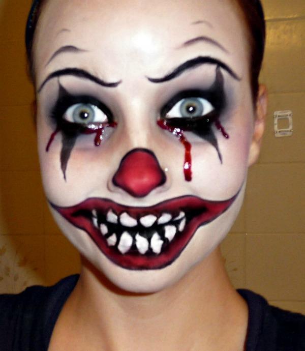 Смешной макияж на лице