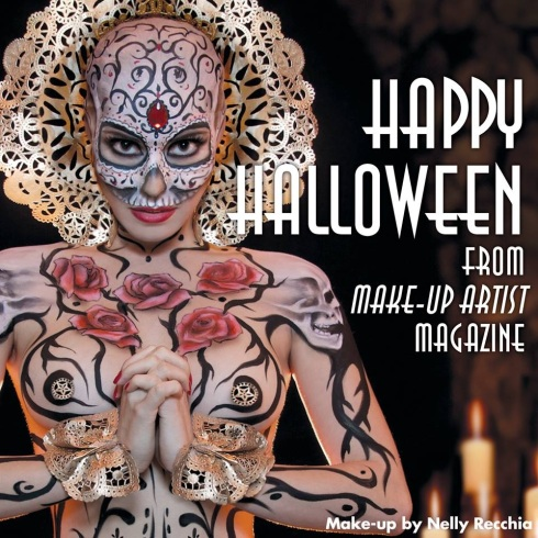 Halloween Queen by Nelly Recchia for Make-Up Artist Magazine