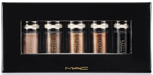 MAC Nocturnals Pigments and Glitter Black and Gold
